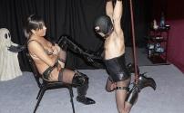 Sissy Slave MIlking
